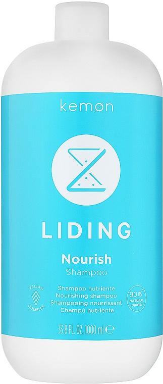 Odżywczy szampon do włosów - Kemon Liding Care Nourish Shampoo — фото N2