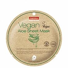 Kup Maska do twarzy w płachcie z aloesem - Purederm Vegan Sheet Mask Aloe