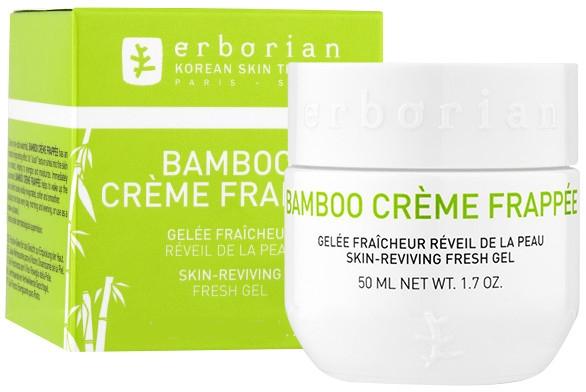 Żelowy krem nawilżający do twarzy - Erborian Bamboo Creme Frappee Fresh Hydrating Face Gel — фото N1
