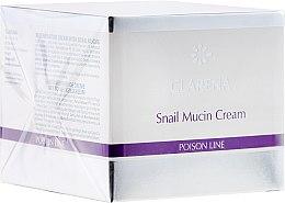 Kup Regenerujący krem do twarzy ze śluzem ślimaka - Clarena Poison Line Snail Mucin Cream