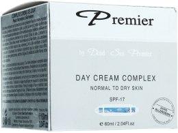 Kup Kompleksowy krem na dzień do skóry suchej i normalnej - Premier Dead Sea Day Cream Complex Normal to Dry Skin