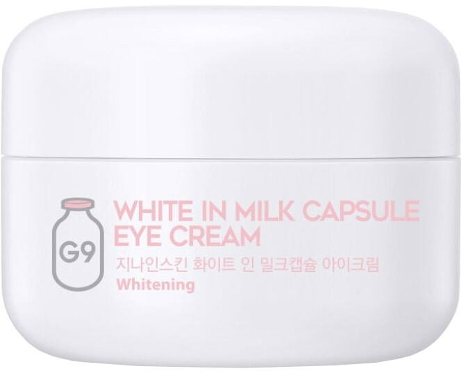 Rozjaśniający krem pod oczy - G9Skin White In Milk Capsule Eye Cream