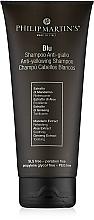 Kup Szampon przeciw żółceniu włosów jasnych - Philip Martin's Blu Anti-yellowing Shampoo
