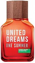 Kup Benetton United Dreams One Summer 2019 - Woda toaletowa (tester z nakrętką)