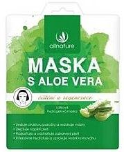 Kup Maska na tkaninie do twarzy z aloesem - Allnature Face Mask Aloe Vera