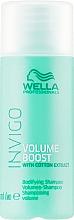 Kup PRZECENA! Szampon dodający włosom objętości - Wella Professionals Invigo Volume Boost Bodifying Shampoo *