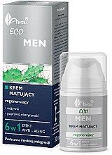 Regenerujący krem matujący dla mężczyzn - Ava Laboratorium Eco Men Cream — фото N1