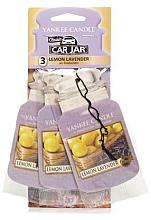 Kup Zapach do samochodu - Yankee Candle Fluffy Lemon Lavender Jar Ultimate