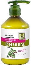 Kup Wygładzająca odżywka do włosów z ekstraktem z malin Lustrzany blask - O'Herbal