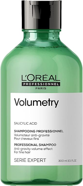 Szampon nadający objętość włosom cienkim i delikatnym - L'Oreal Professionnel Série Expert Volumetry Anti-Gravity Effect Volume Shampoo New