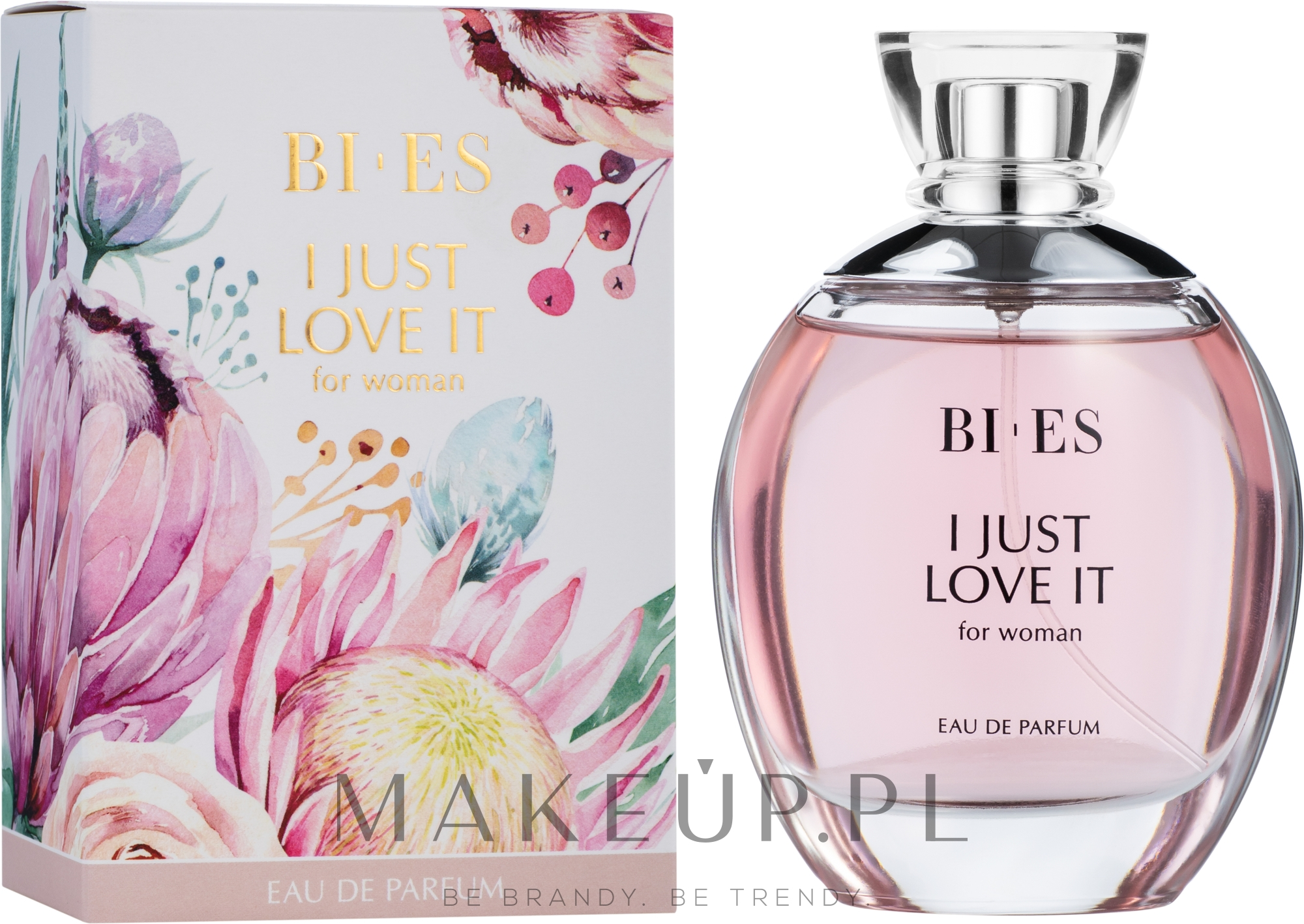 Bi-es I Just Love It For Woman - Woda perfumowana — фото 100 ml