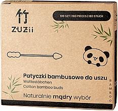 Kup Patyczki bambusowe do uszu z różnymi końcówkami - Zuzii Bamboo Cotton Buds