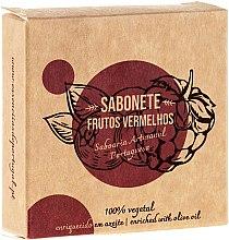 Kup Naturalne mydło w kostce Czerwone owoce - Essências de Portugal Senses Red Fruits Soap With Olive Oil