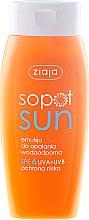 Kup Emulsja do opalania SPF 6 - Ziaja Sopot Sun
