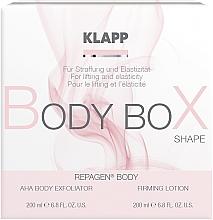 Kup Zestaw do ujędrniania ciała - Klapp Repagen Body Box Shape (peel 200 ml + b/lot 200 ml)