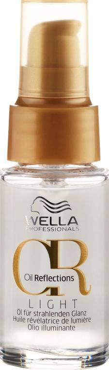Olejek przywracający włosom blask - Wella Professionals Oil Reflection Light