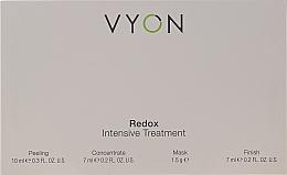 Kup Zestaw do pielęgnacji twarzy - Vyon Redox Intensive Tretment (peel 10 ml + conc 7 ml + mask 1,5 g + finish 7 ml)