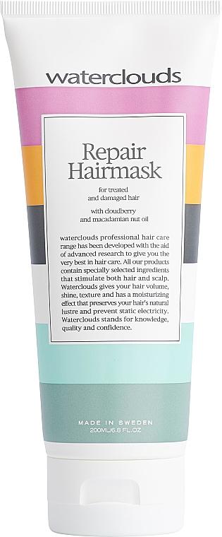 Rewitalizująca maska do włosów - Waterclouds Repair Hairmask — фото N1
