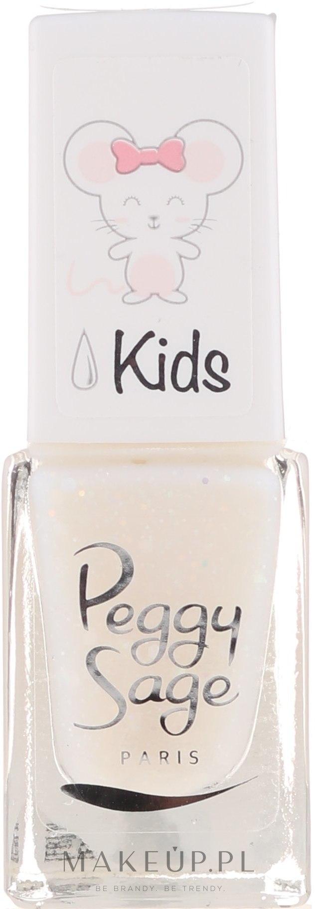 Lakier do paznokci - Peggy Sage Kids Nail Lacquer — фото Bianca