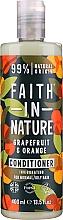 Kup Odżywka do włosów normalnych i przetłuszczających się Grejpfrut i pomarańcza - Faith In Nature Grapefruit & Orange Conditioner