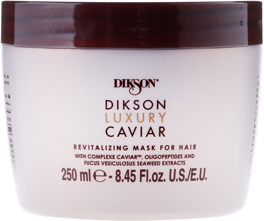 Rewitalizująca maska do włosów - Dikson Luxury Caviar Revitalizing Mask For Hair