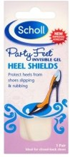 Kup Niewidoczna żelowa osłona na piętę - Scholl Party Feet Invisible Gel Shields Back of Heels