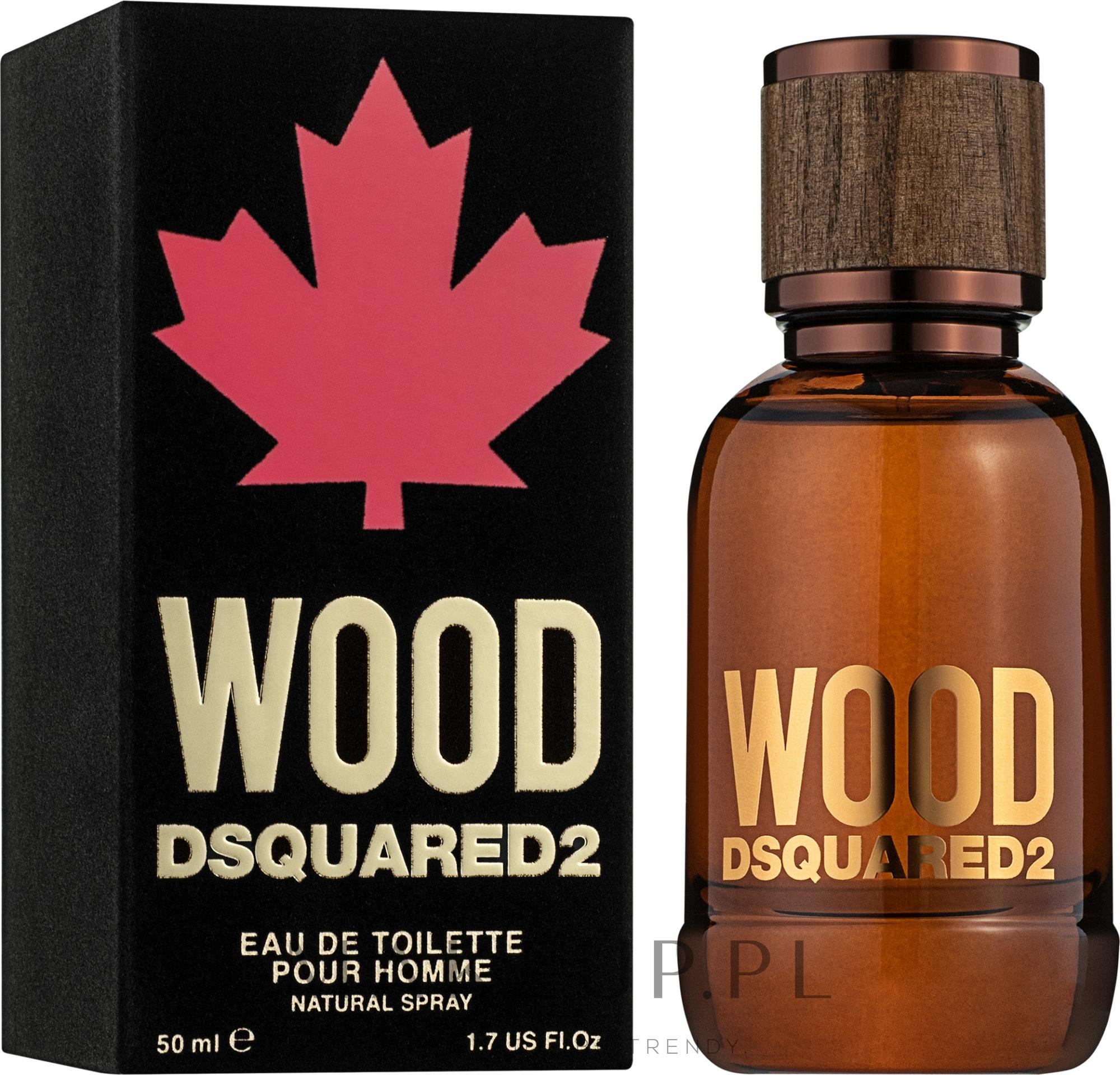 Dsquared2 Wood Pour Homme - Woda toaletowa — фото 50 ml