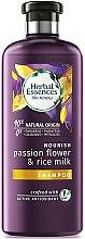Kup Nawilżający szampon do włosów suchych i zniszczonych - Herbal Essences Passion Flower & Rice Milk Shampoo