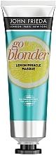 Kup Wzmacniająca maska do włosów osłabionych rozjaśnianiem - John Frieda Sheer Blonde Go Blonder Lemon Miracle