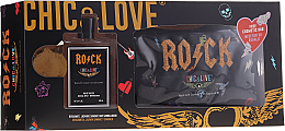 Kup PRZECENA! Chic&Love Rock - Zestaw (edt 100 ml + bag) *