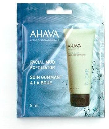 Peeling błotny do twarzy - Ahava Time To Clear Facial Mud Exfoliator (próbka) — фото N1
