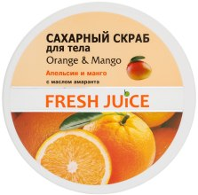 Scrub do ciała - Fresh Juice Orange and Mango — фото N1