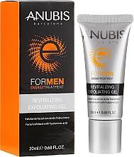 Kup Rewitalizujący żel złuszczający z kwasem hialuronowym dla mężczyzn - Anubis For Men Revitalizing Exfoliating Gel
