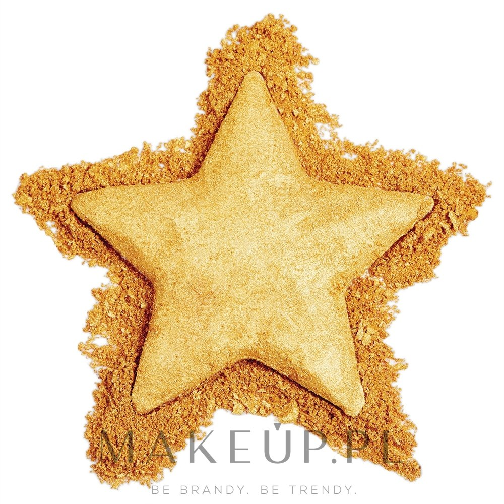 Wypiekany rozświetlacz do twarzy - Makeup Revolution I Heart Revolution Star of the Show Highlighter — фото Gold Star