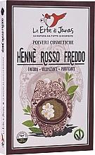 Kup Proszek do włosów Rosso Freddo Lawsonia - Le Erbe di Janas Red Henna Cold Shades