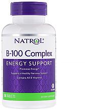 Kup Kompleks B-100, wsparcie energetyczne - Natrol B-100 Complex Energy Support