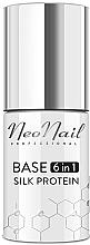 Kup Baza pod lakier hybrydowy 6 w 1 - NeoNail Professional Base 6in1 Silk Protein