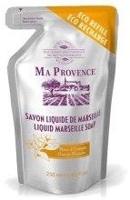 Mydło w płynie Pomarańcza - Ma Provence Orange Blossom Liquid Marseille Soap (uzupełnienie) — фото N1