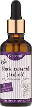 Kup PRZECENA! Olej z nasion czarnej porzeczki z pipetą - Nacomi Black Currant Seed Oil *