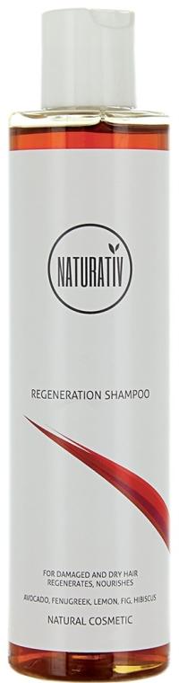 Regenerujący szampon do włosów zniszczonych i suchych - Naturativ Regeneration Shampoo — фото N1