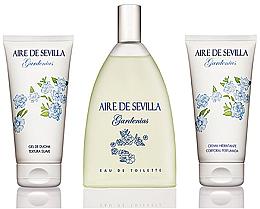 Kup Instituto Español Aire De Sevilla Gardenias - Zestaw (edt 150 ml + cream 150 ml + sh/gel 150 ml)