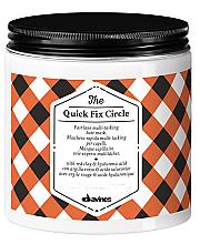 Kup Maska do włosów z glinką czerwoną i kwasem hialuronowym - Davines Quick Fix Circle Hair Mask