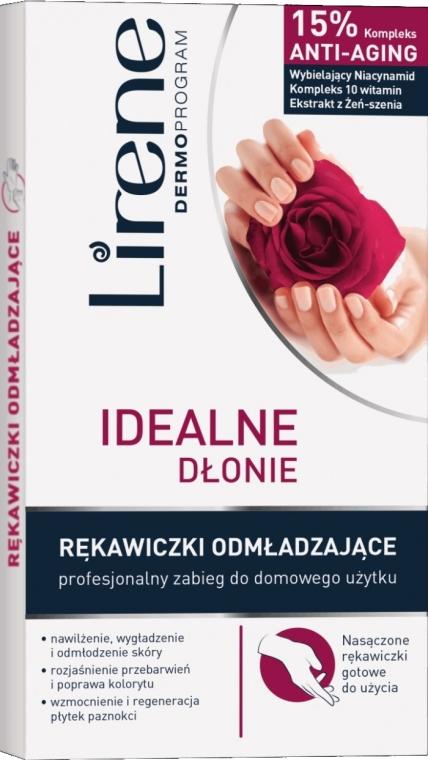Rękawiczki odmładzające Idealne dłonie - Lirene