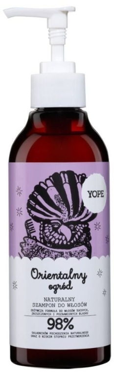 Zestaw do włosów - Yope Orientalny ogród (shm 300 ml + cond 170 ml) — фото N2