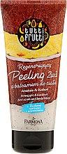 Kup Regenerujący peeling z balsamem pod prysznic 2 w 1 Ananas i kokos - Farmona Tutti Frutti Pineapple & Coconut