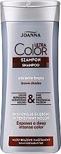 Kup Szampon podkreślający odcień włosów brązowych i kasztanowych - Joanna Ultra Color System