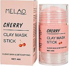 Kup Glinkowa maska w sztyfcie do twarzy Wiśnia - Melao Cherry Clay Mask Stick