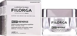 Kup Kompleksowy wielozadaniowy krem korygujący do twarzy Zmarszczki, jędrność, rozświetlenie - Filorga NCTF-Reverse Supreme Regenerating Cream