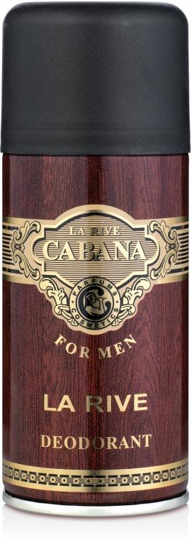 La Rive Cabana For Men - Perfumowany dezodorant w sprayu dla mężczyzn