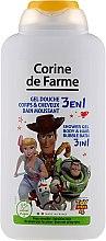 Kup Żel pod prysznic 3 w 1 do mycia ciała i włosów dla dzieci Toy Story - Corine De Farme Toy Story 4 Shower Gel